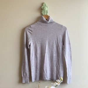 J. Crew | Cashmere Turtleneck Sweater